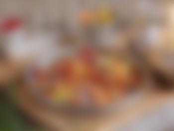 Rypebryst med appelsinkokte gulrøtter og byggryn