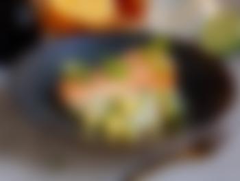 Laks med fennikel- og mangosalat