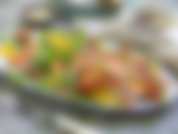 Grillet kyllingfilet med appelsinsalat