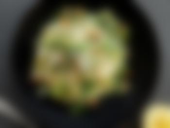 Kremet pasta med ricotta og purre