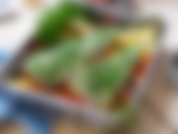 Urtebakt kveitefilet med honningglaserte rotgrønnsaker