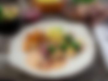Ovnsstekt rypebryst med fløtesaus og potetmos