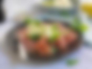 Spekefat med sitronmarinert mozzarella