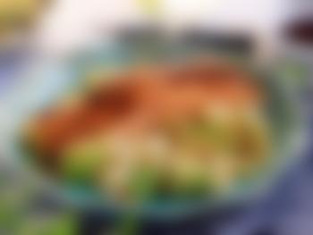 Laksefilet med couscoussalat