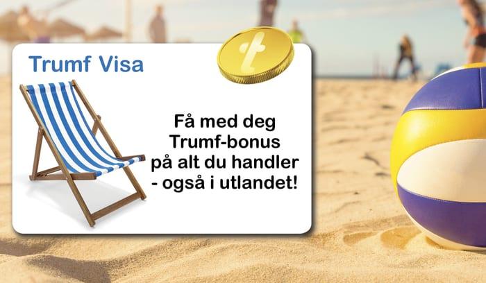 Bakgrunn av sandstrand med volleyball og tekstfelt med solstol og mynt