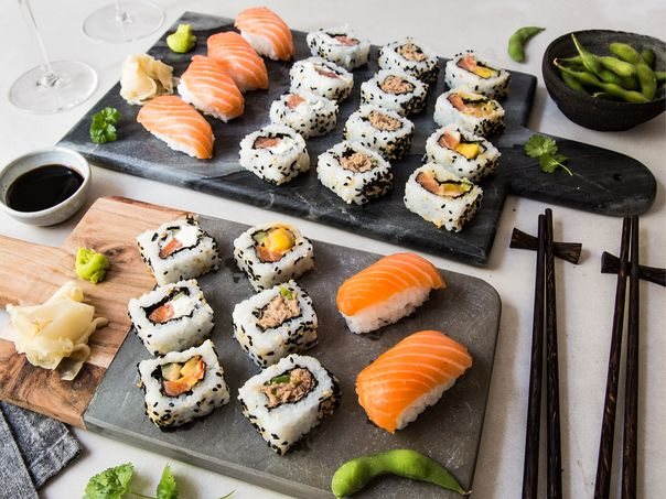 Premium sushi fra MENY