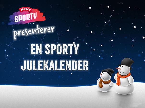 SportyMENYs julekalender