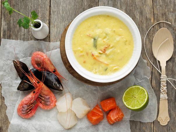 Prøv MENYs ferske fiskesuppe!