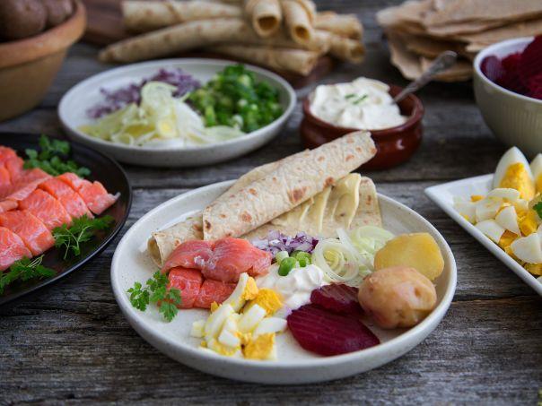 Rakfisk - tips til servering