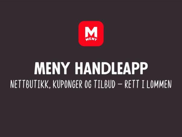 NYHET! MENY handleapp