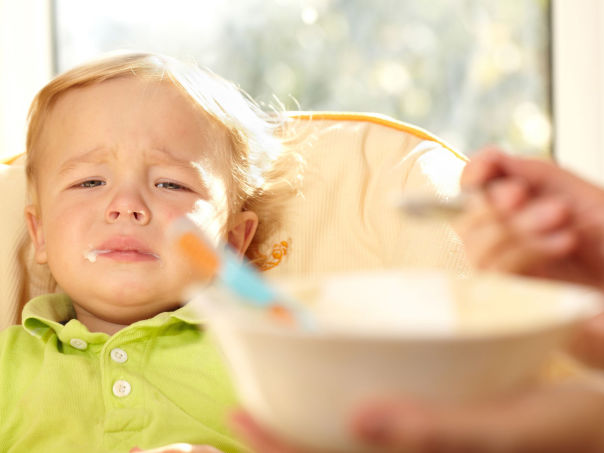 Barn som ikke vil spise