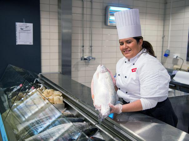 MENY - størst på fersk fisk
