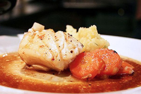 Berens torsk og hjemmelaget potetpuré