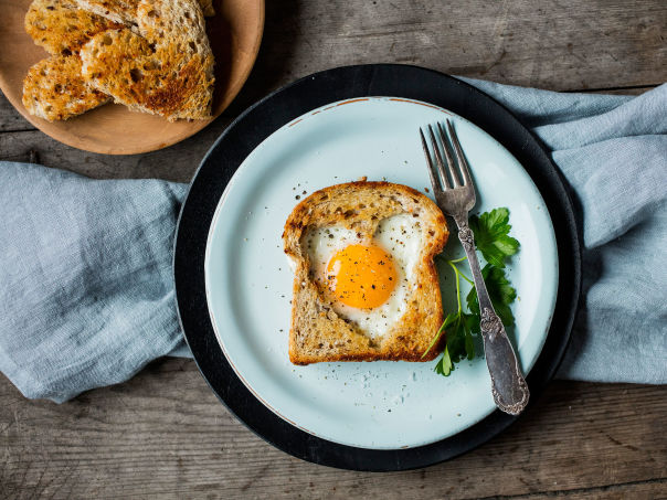 Egg i brød