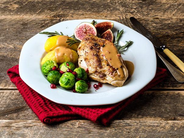 Kyllingfilet med smak av jul