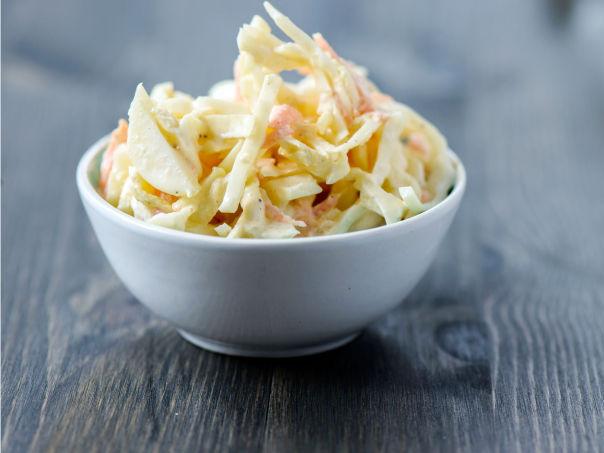 Hjemmelaget coleslaw