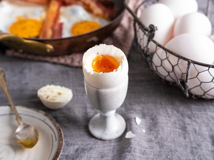 smilende egg