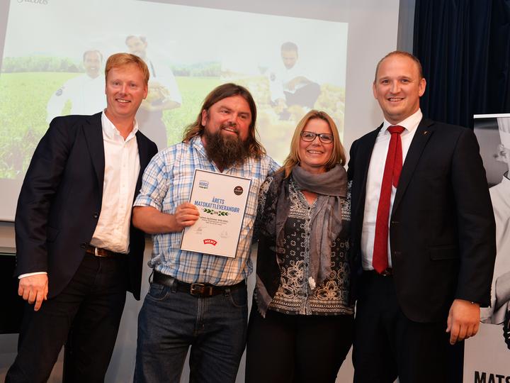 Vinneren av Matskattstipendet 2016 var Skjærgaarden Gartneri.