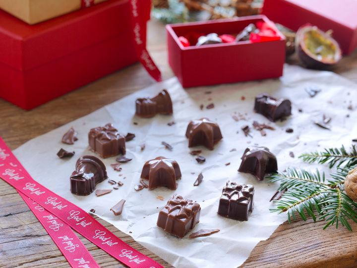 VELG RIKTIG SJOKOLADE: Det er viktig å velge sjokolade av god kvalitet, gjerne Odense mørk sjokolade eller Valrhona, som du finner i utvalgte MENY-butikker.