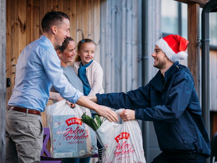 Vi kan levere alle julevarene hjem til deg!