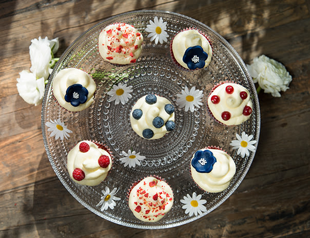 Kanskje verdens beste, og i hvert fall mest berømte, cupcakes.