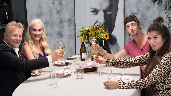Det er bare å glede seg til 28. januar når Krisin Gjelsvik, TIX, Gunilla Persson og Dennis Storhøi setter seg til bords.