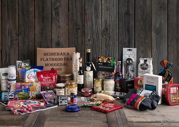 MENY har et stort utvalg av produkter som passer fint som gaver i pakkekalender.