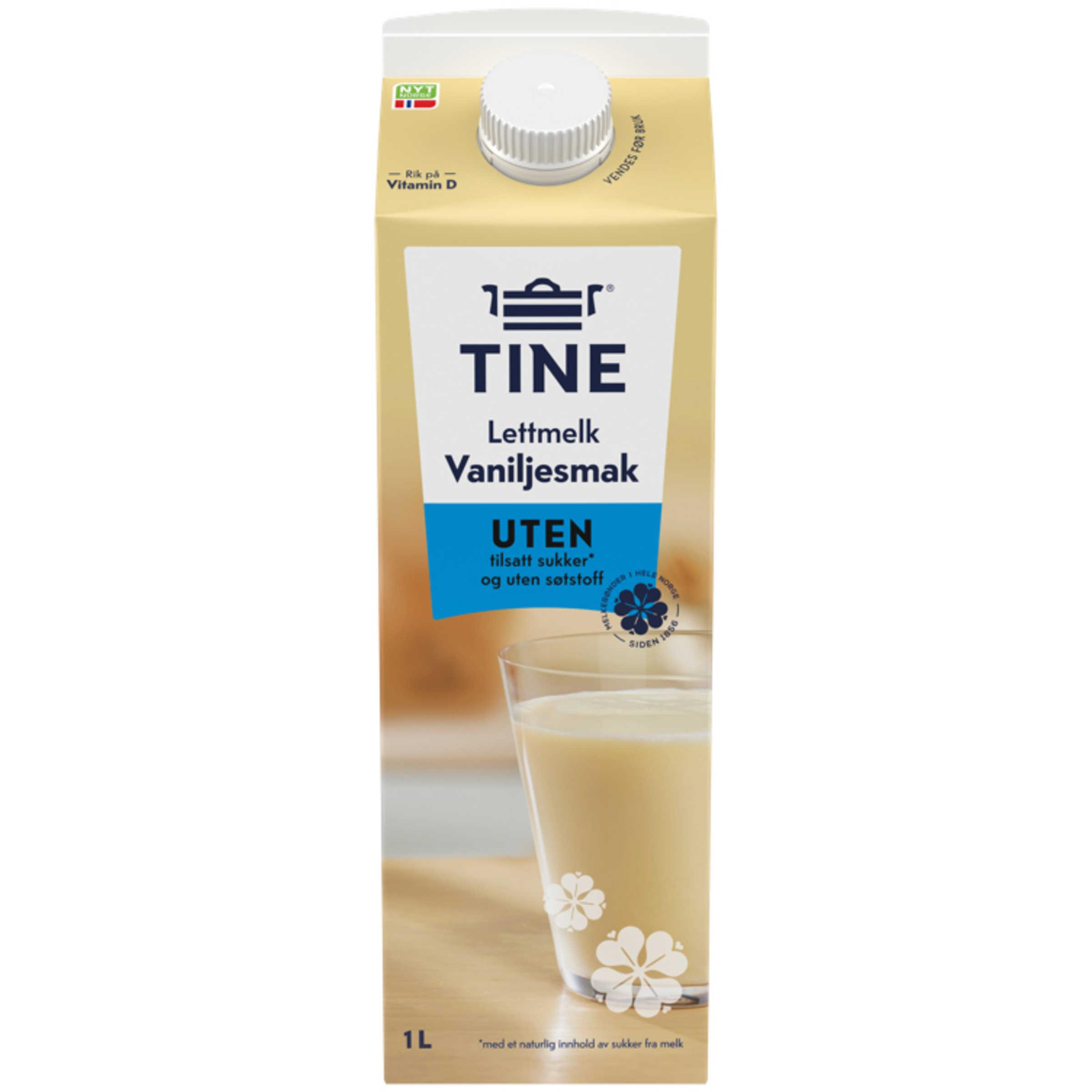 Melk m/Vanilje