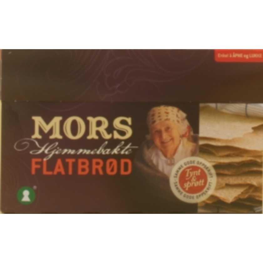 Flatbrød Mors - Hjemmebakte 260g | Meny.no
