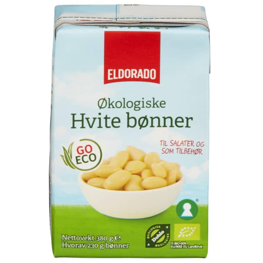 Bønner, hvite, 25 kg, økologisk   Norganic