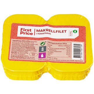 Makrellfilet