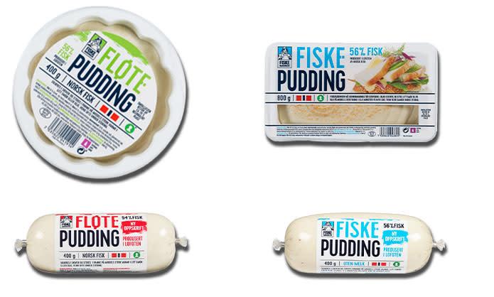 Fiskemannen Fiskepudding og Fløtepudding
