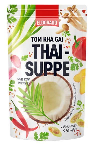Tom Khai Gai Thaisuppe