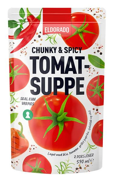 Chunky & spicy tomatsuppe