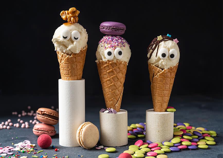 Festlige iskjeks til barna