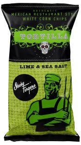 Hvite tortilla chips