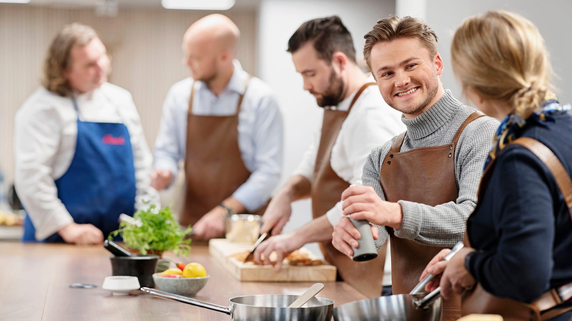 Hos Jacobs Majorstuen kan du melde deg på kokkekurs