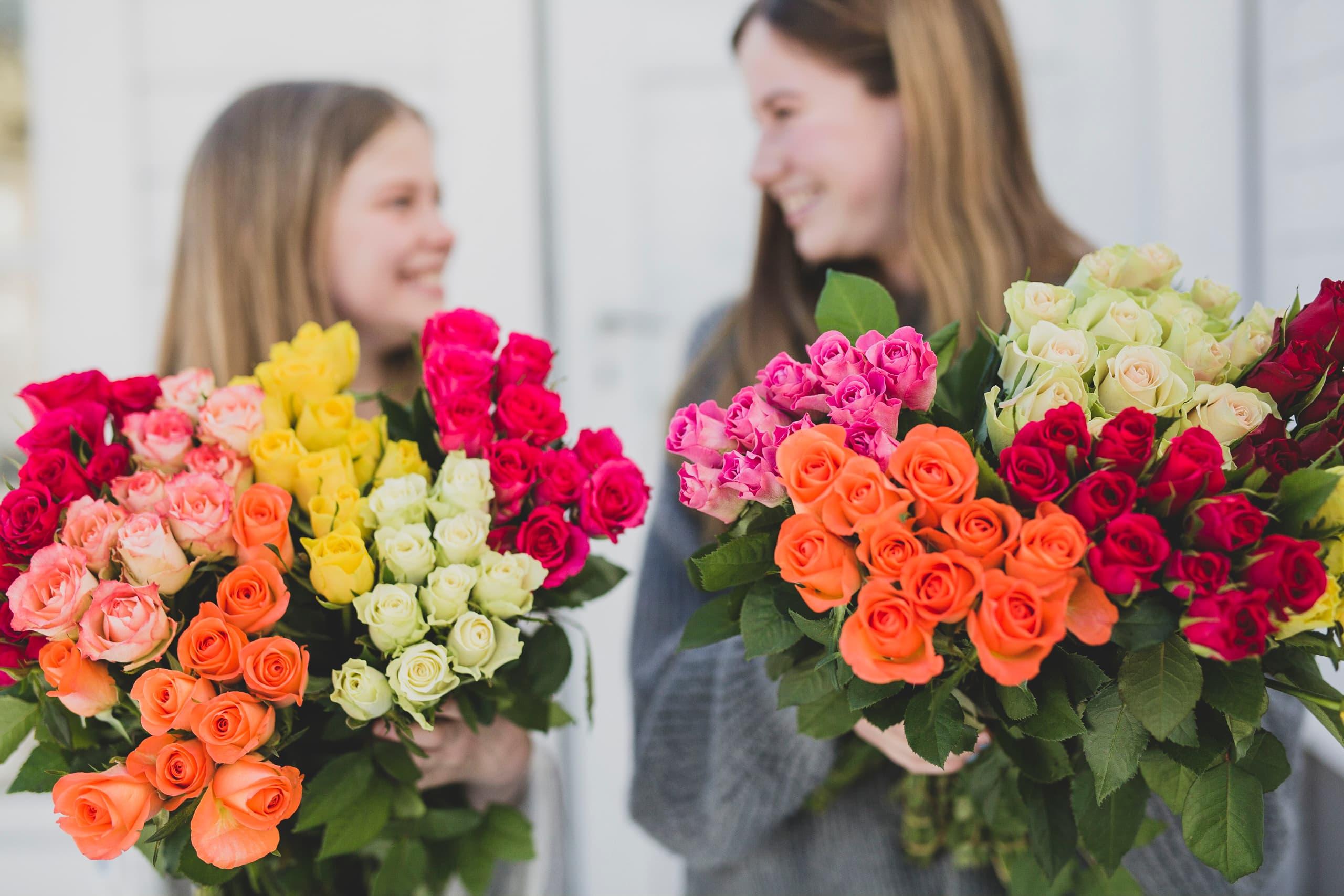Blomster som man blir glad av! Foto: BAMA