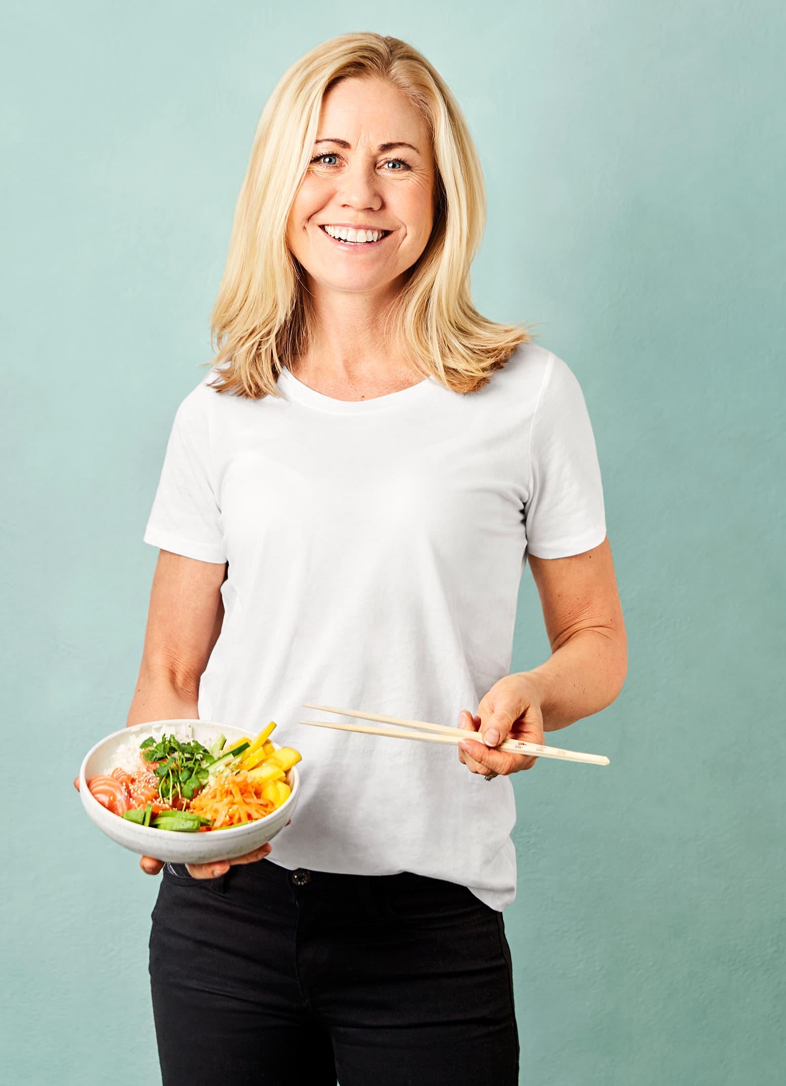 Klinisk ernæringsfysiolog Tine Sundfør er glad i fisk.