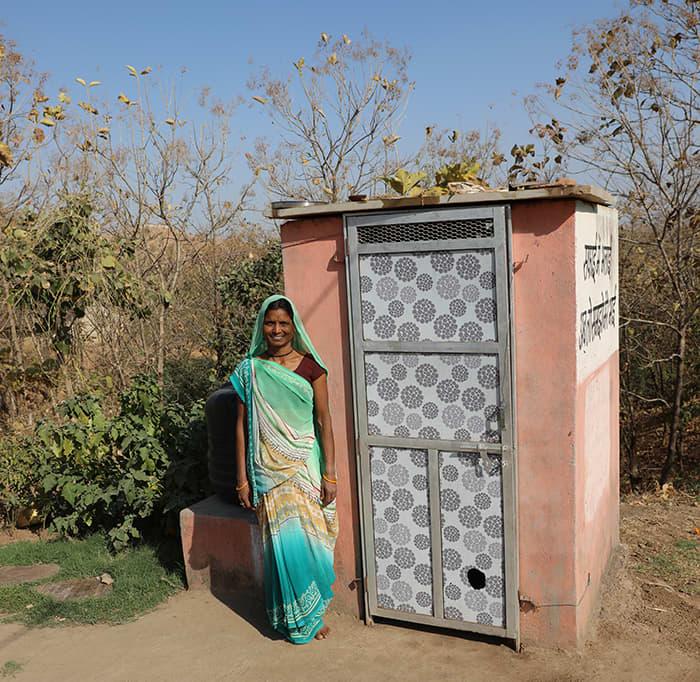 Over 220 000 toaletter har Domestos vært med på å bygge i India de siste åtte årene.