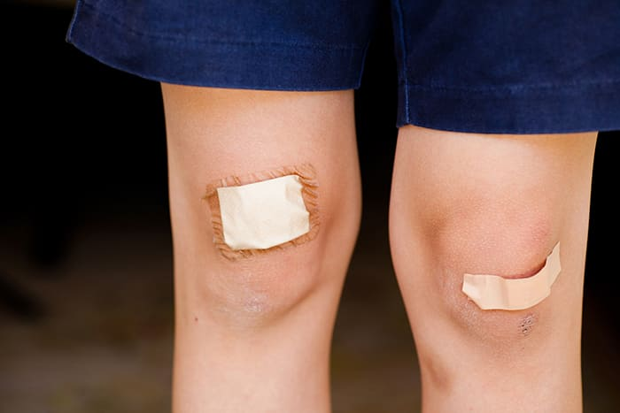 Plaster kan både beskytte mot skitt og stoppe tårer.