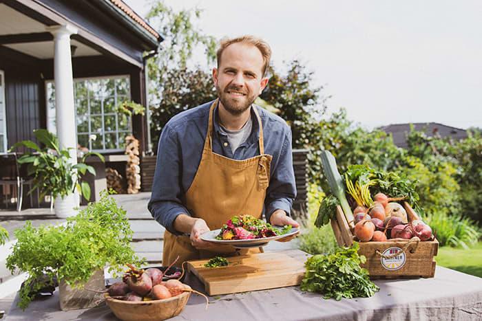 Gartner-kokk Jan Robin Ektvedt tipser om tre superenkle og gode høstoppskrifter med norske rotgrønnsaker.