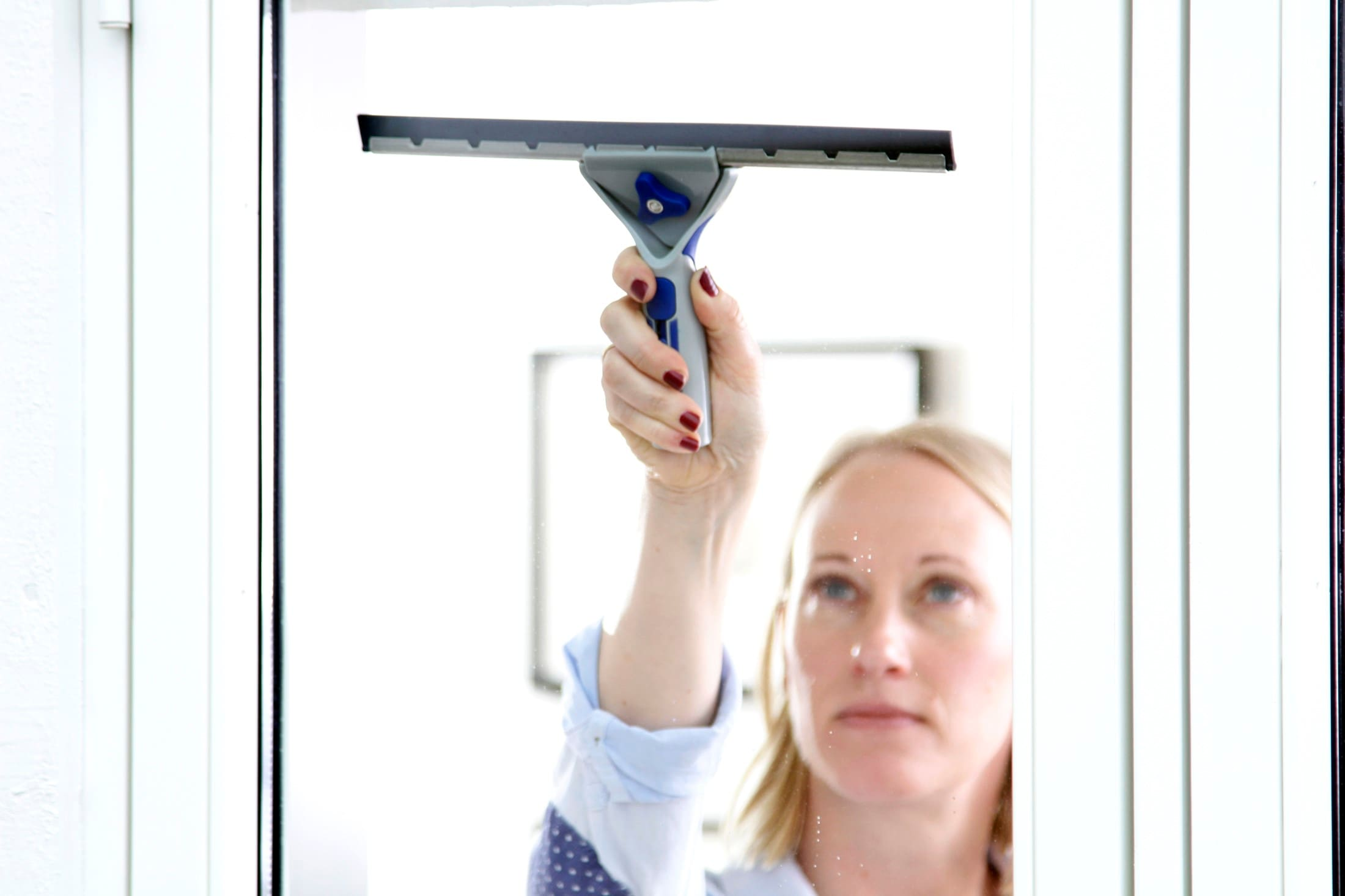 Vårvask betyr at alle vinduer kan pusses ordentlig godt!