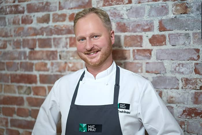 Magnus Tvedt-Øresland er matrådgiver i MatPrat. Kilde og fotograf: Altså Matprat / Aleksander Benjaminsen