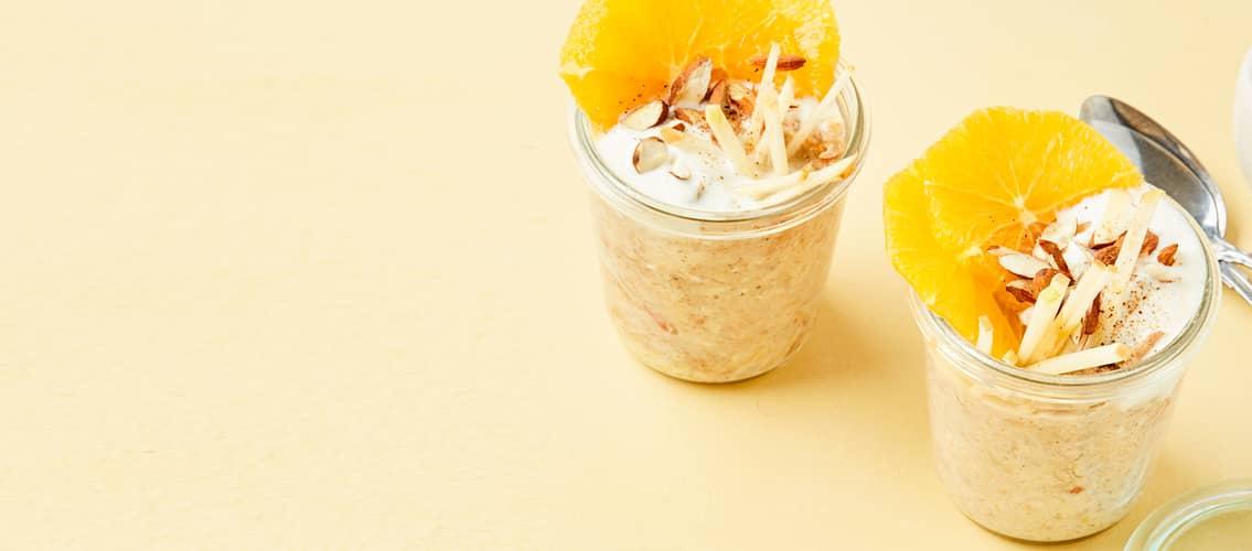 Kjøleskapsgrøt med yoghurt