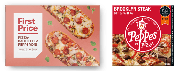 Prøv First Price pizza eller Peppes Brooklyn Steak til helgekosen?