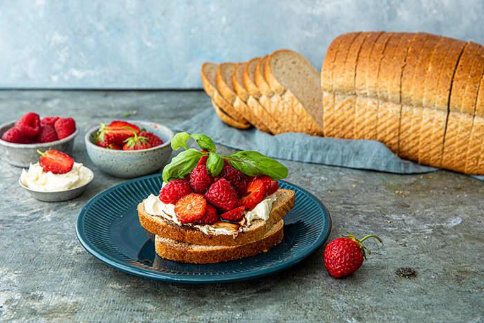 Våre groveste Matpakkebrød er ett av seks nye, smakfulle brød som alle har over 80 prosent grovhet.