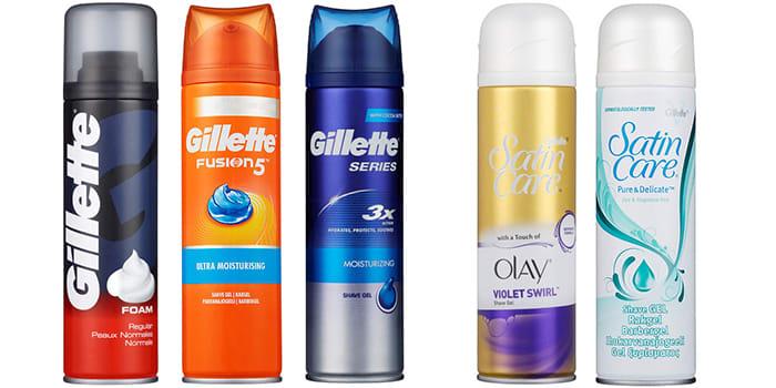 Alle disse barberproduktene fås kjøpt hos KIWI