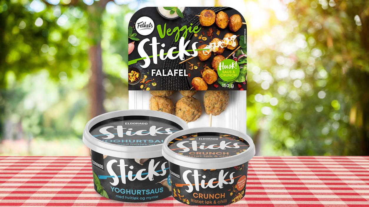 Falafel, yoghurtsaus & Crunch med ristet løk & chili