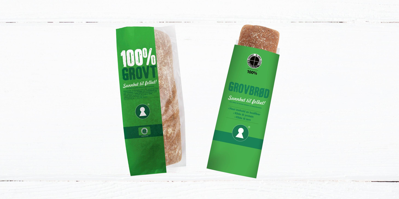 KIWIs eget grovbrød har også fått ny innpakning – se etter det i butikken!